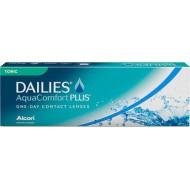 Dailies Aqua Comfort Plus Toric (30 šošoviek)