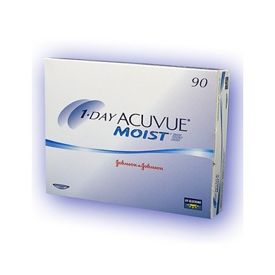 1-Day Acuvue Moist (90 šošoviek)